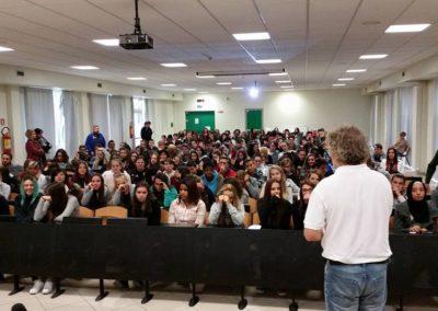Progetto Valentina ospite dell'Istituto Superiore Bartolomeo Montagna