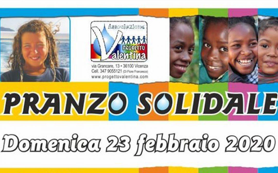 Pranzo Solidale e S. Messa in ricordo di Valentina