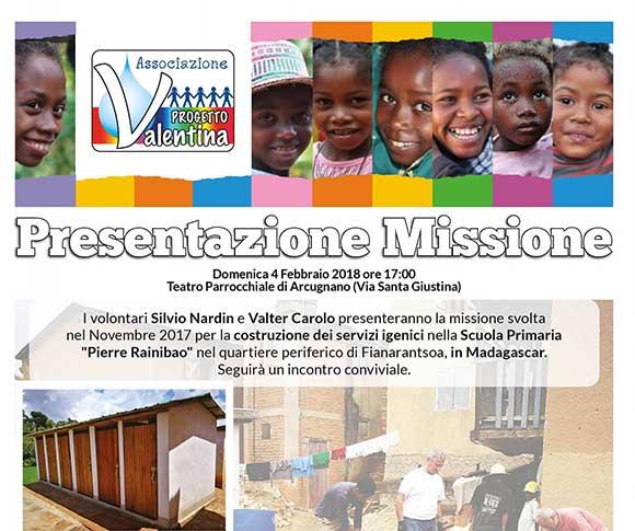 Presentazione Missione – Febbraio